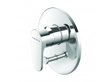 Methven Glide Shower Mixer with Diverter Chrome