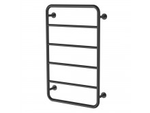 PHOENIX VIVID SLIMLINE 800MM X 500MM TOWEL LADDER MATTE BLACK