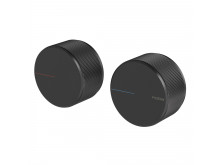 Phoenix Axia wall top assemblies matte black