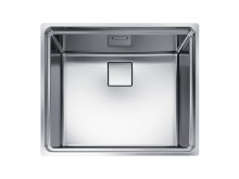 Franke Centinox  Single Bowl Sink with Accessories