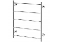 Phoenix Radii Towel Ladder 550 x 740mm Round Plate Chrome