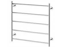 Phoenix Radii Towel Ladder 750 x 740mm Round Plate Chrome