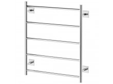 Phoenix Radii Towel Ladder 550 x 740mm Square Plate Chrome