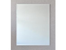 ablaze Contractor 750x900mm Bevel Edge Mirror with Hangers and Demister