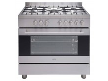 Euro appliances Freestanding duel fuel oven 90cm