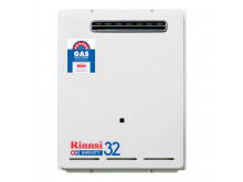 Rinnai N/G 32 Ltr Continuous Flow 60°C Hot Water System