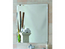 Ablaze 750 x 750mm 25mm Polished Bevel Edge Susan Series Mirror with Demister