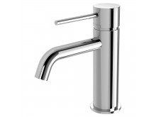 PHOENIX VIVID SLIMLINE BASIN MIXER CURVED OUTLET CHROME