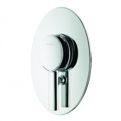 Methven Ovalo Shower Mixer with Diverter Chrome