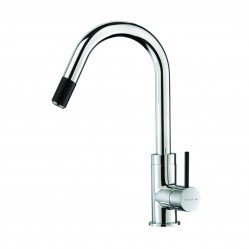 Methven Culinary  Gooseneck Pullout Sink Mixer Chrome/Black