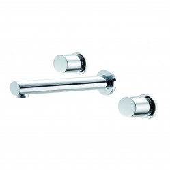 Methven Ovalo 3 Hole Wall Mounted Bath Set Chrome