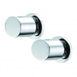 Methven Ovalo Wall Top Assemblies Chrome