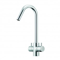 Methven Minimalist Sink Mixer with Twin Handles Chrome