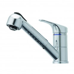 Methven Futura Sink Mixer with Pullout Spray Chrome