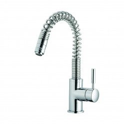 Methven Minimalist Spring Pull Out Sink Mixer Chrome