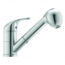 Flexispray Echo Strata sink mixer with pull out spray chrome