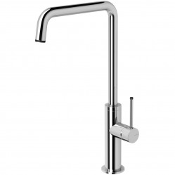 Phoenix Toi Squareline Sink Mixer 180mm Chrome