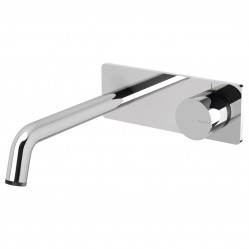 Phoenix Toi Wall Basin/Bath Mixer Set Chrome