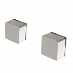 Phoenix Alia  Wall Top Assemblies Brushed Nickel