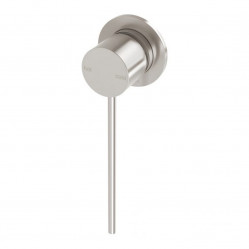 Phoenix Vivid Slimline Wall Mixer 60mm Backplate & Extended Lever Brushed Nickel