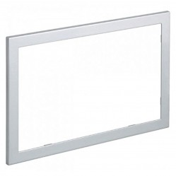Geberit Sigma60 chrome edge cover frame, metal (optional)