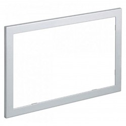 Geberit Sigma60 2016 brushed chrome edge cover frame, metal (optional)