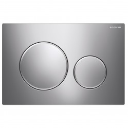 Geberit Sigma 20 Dual Flush Plate Bright/Matt/Bright Chrome
