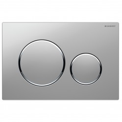 Geberit Sigma 20 Dual Flush Plate Matt/Bright/Matt Chrome