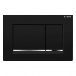Geberit Sigma 30 DF matt black /chrome/ matt black