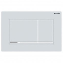 Geberit Sigma 30 DF matt white/chrome/ matt white