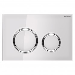 Geberit Sigma21 D/F button white