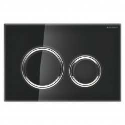 Geberit Sigma21 D/F button black