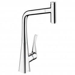 Oliveri Hansgrohe Metris Select 320 Pull Out Mixer