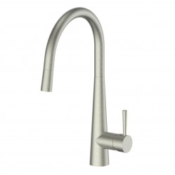 Greens Galiano Pull-Down Sink Mixer Brushed Nickel