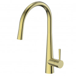 Greens Galiano Pull-Down Sink Mixer Brushed Brass