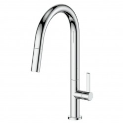 Greens Luxe Pull-Down Sink Mixer Chrome