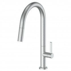 Greens Luxe Pull-Down Sink Mixer Brushed Stainless