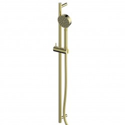 GREENS TEXTURA RAIL SHOWER BRUSHED BRASS