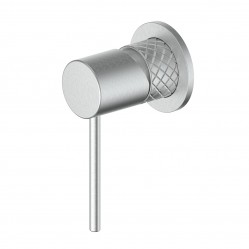 GREENS TEXTURA SHOWER MIXER BRUSHED STAINLESS