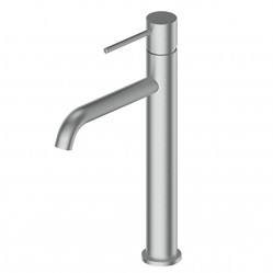GREENS GISELE TOWER BASIN MIXER BRUSHED STAINLESS