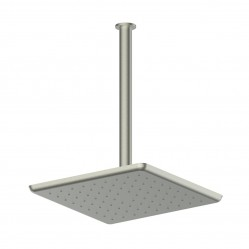 GREENS SWEPT CEILING SHOWER BRUSHED NICKEL