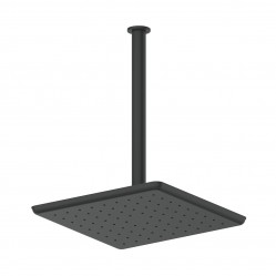 GREENS SWEPT CEILING SHOWER MATTE BLACK
