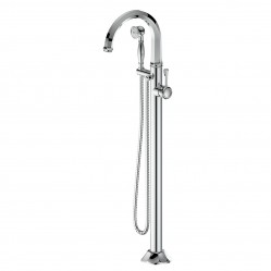 GREENS POLARO FREE STANDING BATH FILLER CHROME