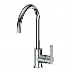 GREENS ASTRO GOOSENECK SINK MIXER CHROME