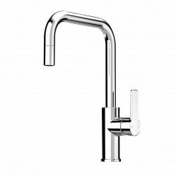 FAUCET Zeos Sink Mixer square Pull ouT AB Light