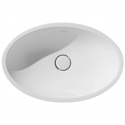 Villeroy & Boch Loop Low-Profile Oval Vessel Basin
