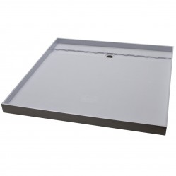 AKRIL GREY TILE TRAY REAR GRATE  1200 X 900
