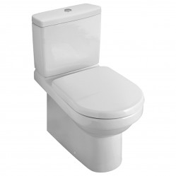 Villeroy & Boch Architectura U  BTW Toilet Suite with Soft Closing Seat S-Trap, Rear Entry