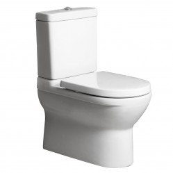 Villeroy & Boch O.novo  BTW Toilet Suite with Soft-Closing Seat - S Trap