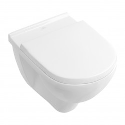 Villeroy & Boch O.novo  Wall-Faced Toilet with Soft-Closing Seat S-Trap